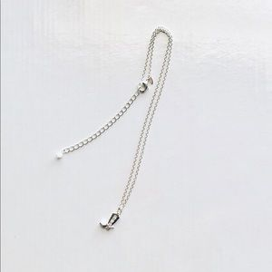 Jewelry - Sterling Silver Boot Necklace